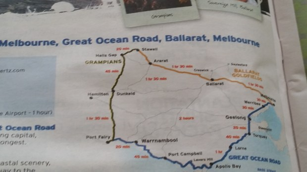 Visit to Melbourne Part 4 Great Ocean Road – Melbourne Tourist Attractions Map