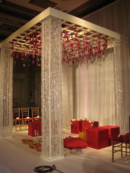 Modern Wedding Stage Decoration