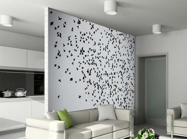 Living Room Parion Designs Between Dining Divider