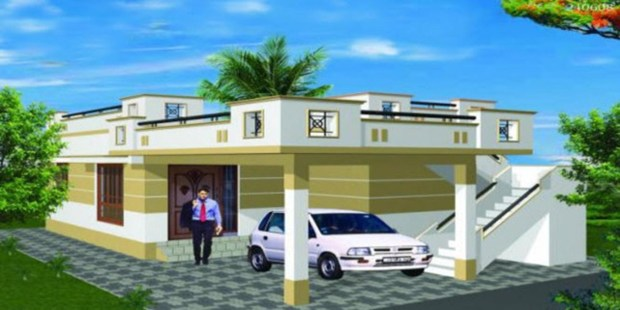 Karjat an emerging realty destination sulekha property for Semi concrete house
