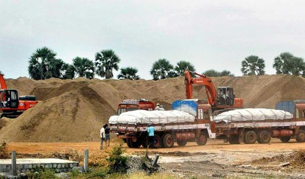 Image result for sand quarry in trichy
