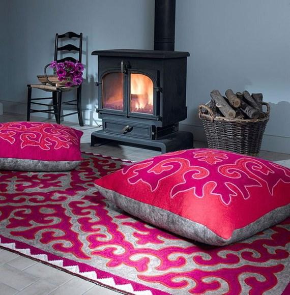 Big Floor Cushions India - The Ground Beneath Her Feet