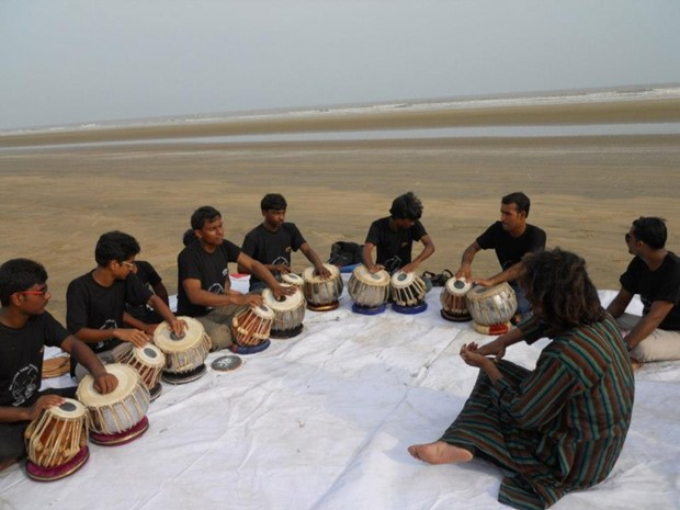 TABLA EXPONENT SUBHRANGSHU CHAKRABORTY S  AUTHENTIC TABLA WORKSHOP