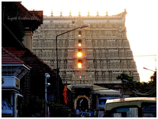 Sri Padmanabha Swami Temple during Equinox!