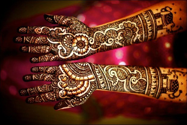 Mehndi Bridal Mehndi Design : Striking bridal mehndi designs for your wedding day