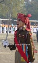 Letter From Mhow: Glimpses of The 2013 Republic Day Parade in Mhow