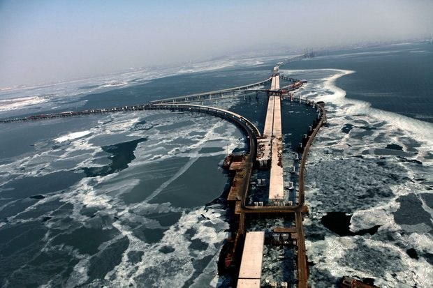 It is a magnificent and very advanced bridge, said Li Qun, the local  Communist party secretary, at the opening ceremony. It is another stepping  stone in the ...